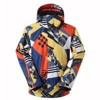 Professional Ski Jacket Men Snowboard Jacket Windproof Waterproof Snow Wear Snow Clothes Warm