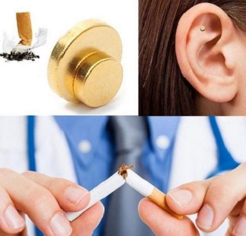 Подробные сведения о 2 шт Анти-дым Магнитный патч-магнит аурикулярная бросить курить Прямая доставка 092-B1866-без перевода