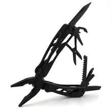 Высокое качество Ganzo G201B мульти инструменты плоскогубцы с отверткой комплект кемпинг восхождение Пеший Туризм карманные плоскогубцы резки Мультитулы черный