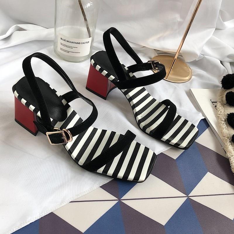 Sandales Marque Carré 2018 Mode Dames À Lxunyi Pour Femmes Bout qwU7Z6Z