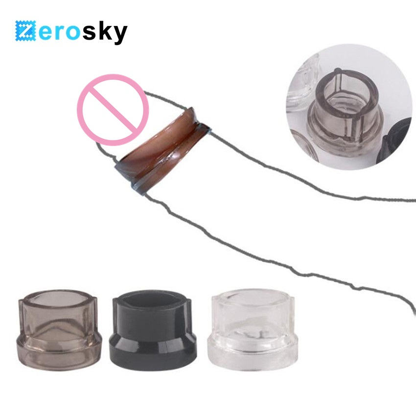 1pcs Penis Sleeve Male Chastity Device Delay Ejaculation <font><b>Sex</b></font> <font><b>Toys</b></font> For Men Penis <font><b>Ring</b></font> Erotic <font><b>Cock</b></font> <font><b>Ring</b></font> Foreskin Correction image