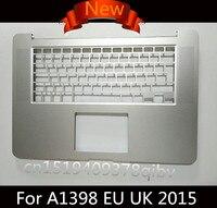 New For MacBook Pro 15 Retina A1398 UK EU Top Case Palmrest Topcase Without Keyboard 2013