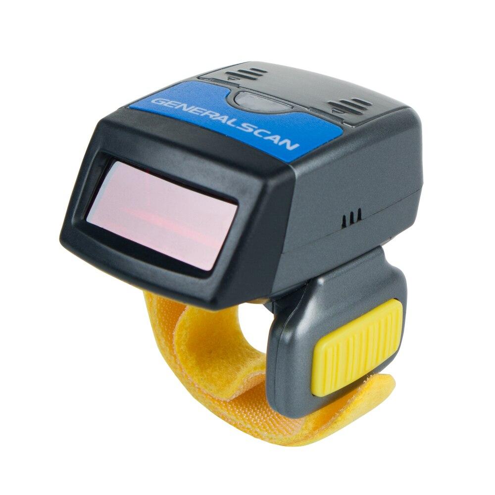 Generalscan GS lecteur de code à R1000BT-PRO 1D Laser Mini anneau lecteur de code à barres avec brassard sans fil AB1000 (dans la batterie)