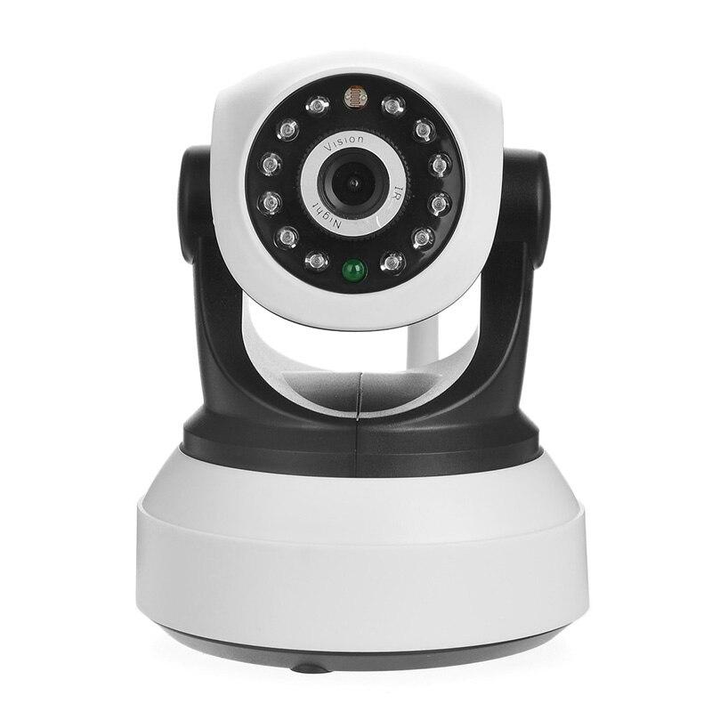 CMOS 300KP Wifi Wireless Home Security IP Camera Security Network CCTV Surveillance Camera IR Night Vision Baby Monitor qqzm 300kp 1 5 cmos wireless network surveillance ip camera w 11 ir led free ddns tf black