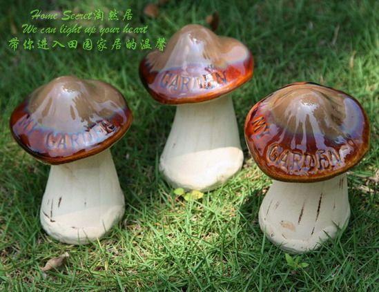 popular ceramic garden mushroomsbuy cheap ceramic garden, ceramic mushroom garden decor, diy mushroom garden decor, how to make mushroom garden decorations