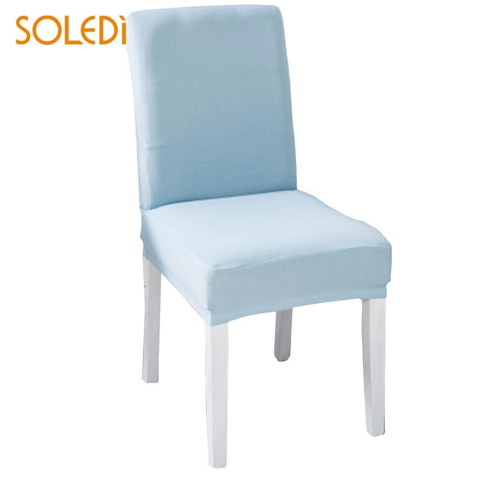 Zelfbewust Soledi 50-60 Cm Seat Cover Wedding Non-silp Kleurrijke Party Decor Seat Protector Water Risistant Banket Stoel Covers