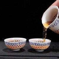 Завод прямых продаж сотовых подсолнечное чаша (большой) Кунг-Фу чайный сервиз подарочная коробка оптовая