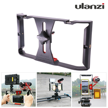 Ulanzi Handheld Stabilizer Handle Video Grip for Iphone 7/6s Android Smartphone for Photo & Video Shots & Photographer Filmaker