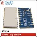 2 шт. RS485 433 МГц 500 МВт SV650 Embeded Long Distance Беспроводной Цифровой Модуль Приемопередатчика Для Безопасности Системы Дистанционного Управления