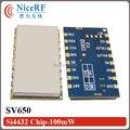 2 unids RS485 SV650 Embebido 433 MHz 500 mW Larga Distancia Módulo de Transceptor Inalámbrico Digital Para El Sistema de Seguridad de Control Remoto