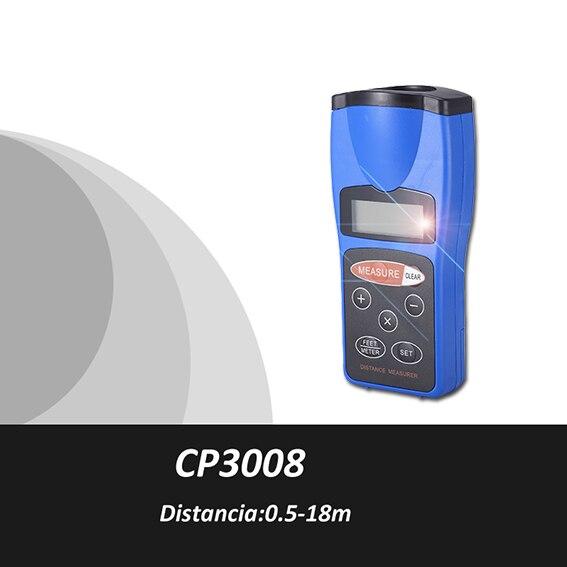 Trena метро лазер, medidor метро distancia лазер, 0.5-18 м, лазерный дальномер, лазерный метро цифровой, синта метрика, cp3008