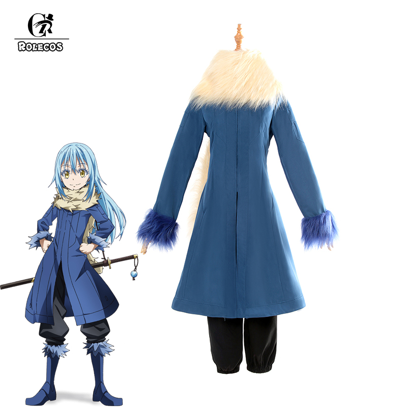 ROLECOS Rimuru Tempest Cosplay Costume Tensei shitara Slime Datta Ken Anime That Time I Got Reincarnated as a Slime Cosplay Set