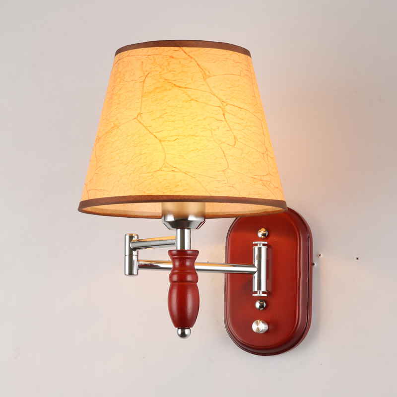 Aisle Stairs LED Wall Lamps Wooden Wall Mount Light Sconce ...