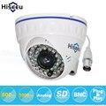 Hiseeu 1000tvl cmos 800tvl cctv mini câmera dome analógica segurança indoor camera ir cut night vision vigilância câmera 36 leds