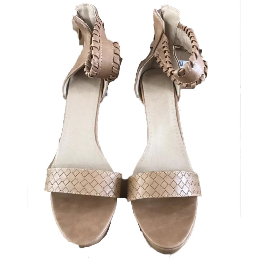Toe D'été Knit Sexy Talons kaki Chaussures Party Plate Sandales Gladiateur Cuir Pu Noir Armure 2018 forme Haute Femme Pompes Femmes En Peep zSwaAa