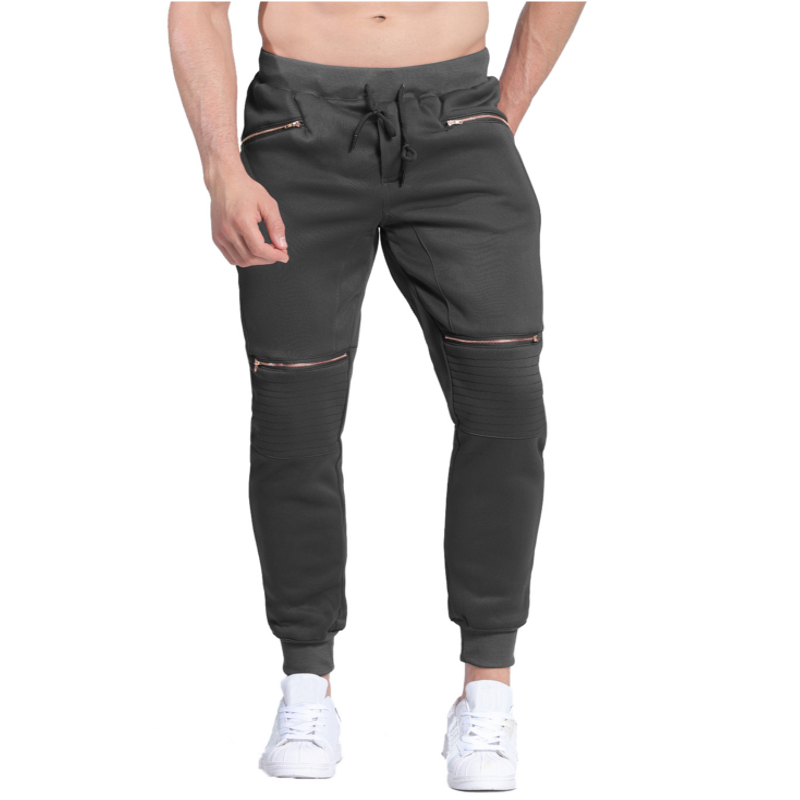INCERUN Men Winter Warm Thick Sweatpants Fleece Lined Casual Joggers Sweats Pants Male Baggy Gyms-clothing Long Workout Trousers