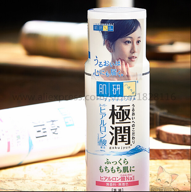 Hada Labo Hyaluronic Acid Moisturizing Lotion 140ml Pregnant Women Are Available