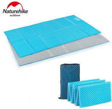 Naturehike 2 Person Foldable Ultralight Outdoor Camping Mat Tent Waterproof Picnic Sleeping Pad Moistureproof