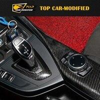 Free shipping Carbon Fiber Interior Dashboard Trims for BMW 1 series E82 E87 135i 120i Four door style 9pcs/set