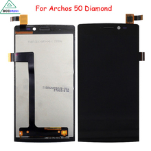 Full original Quality replacement for Archos 50 Diamond LCD display touch screen assembly Free Tools