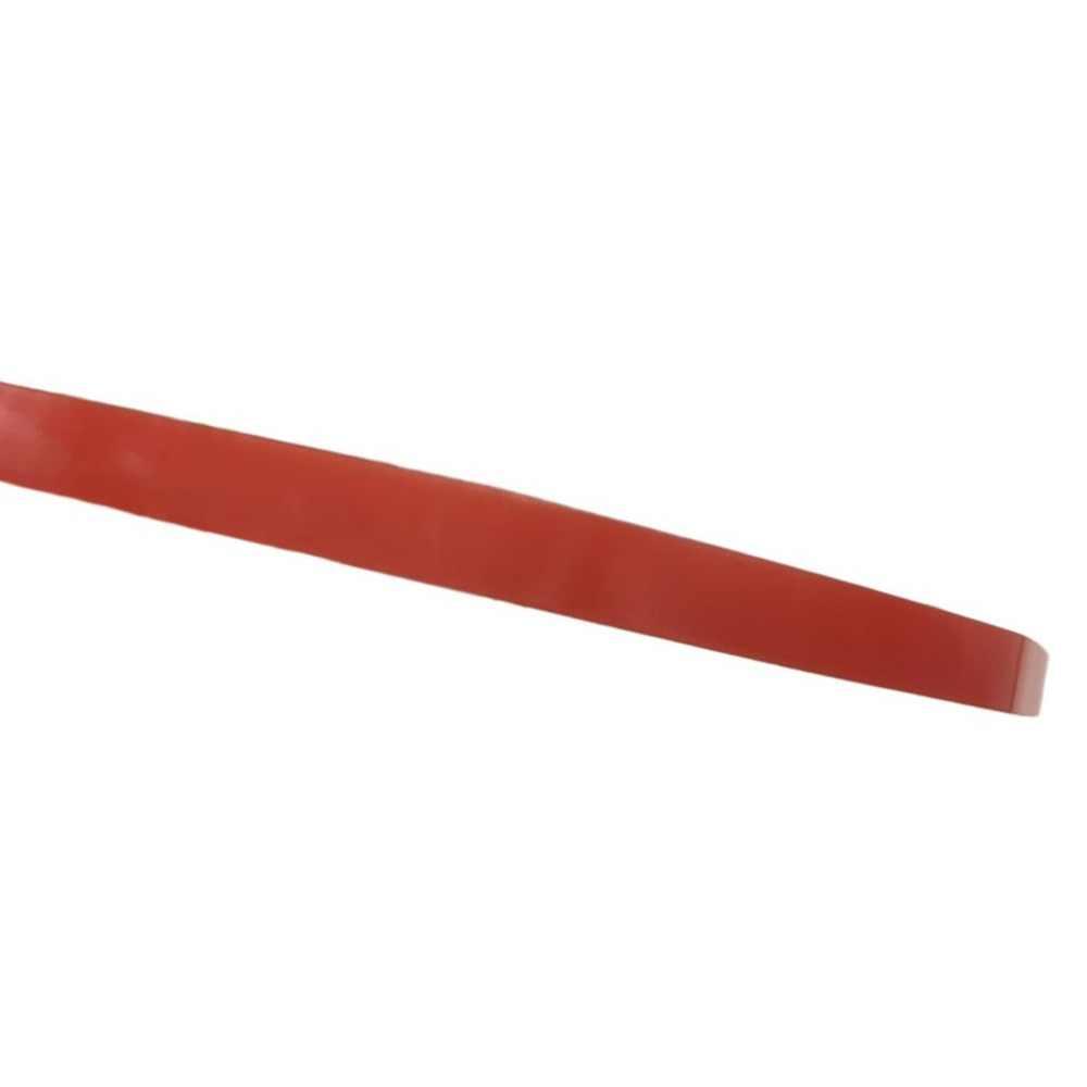 25 M/Roll Impermeabile Rosso Pellicola Trasparente Doppio Nastro Adesivo Laterale 1 Mm/2 Mm/5 Millimetri /8 Millimetri di Larghezza di Alta Temperatura Del Nastro Resistenza