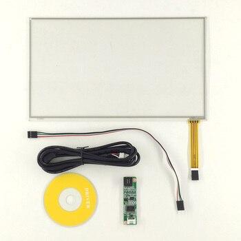 267*156 nuevo 11,6 pulgadas cuatro cables resistivo pantalla táctil industrial con controlador