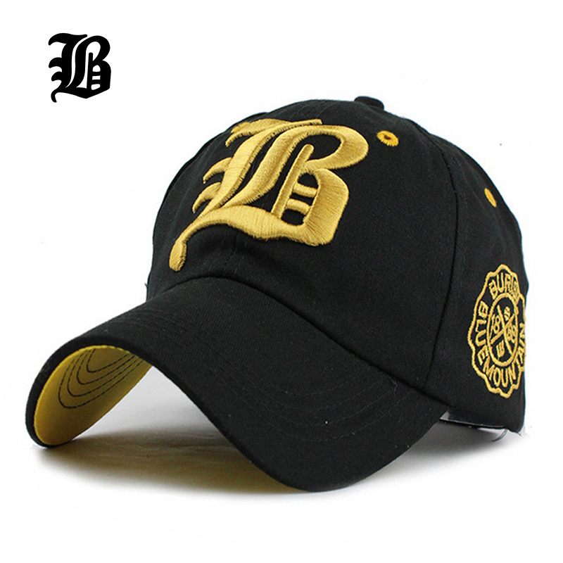[FLB] Letter New Brand Hats Hip hop Hat Fashion Baseball Fitted Cap Suede Snapback Gorras Hombre solid for men and women F218
