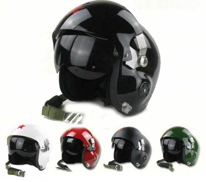 Best Sale Pilot Helmet Motorcycle Racing Motorcross Tactical Military Crash Helmet Dual Visor Free Size 1000m motorcycle helmet intercom bt s2 waterproof for wired wireless helmet