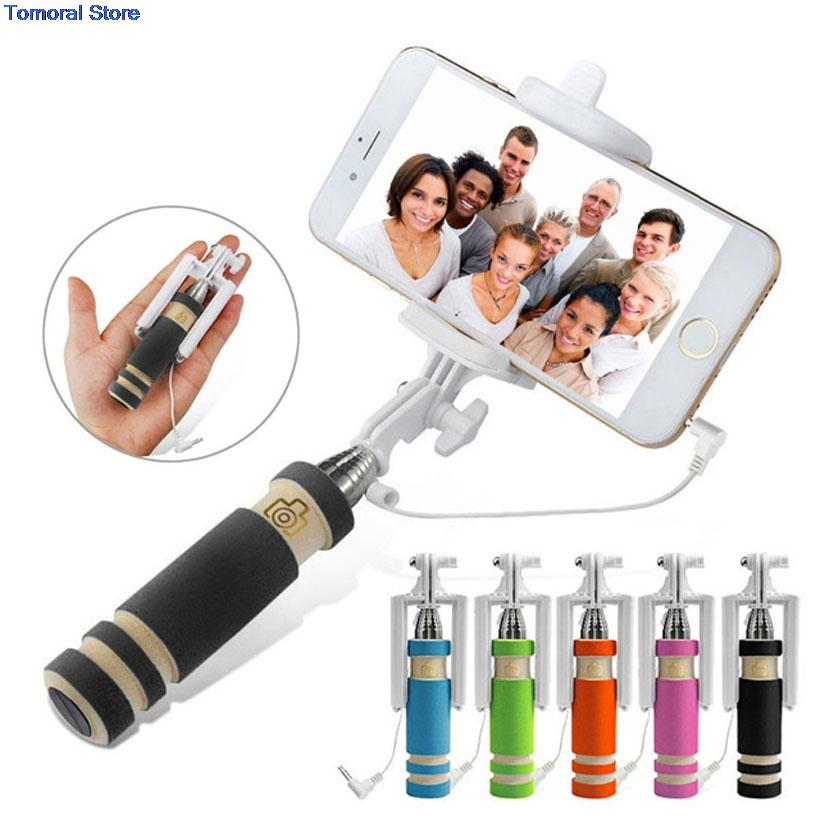universal selfie stick monopod extendable mount holder for iphone ios android. Black Bedroom Furniture Sets. Home Design Ideas