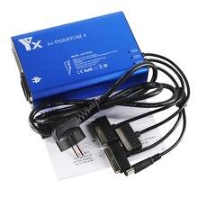 팬텀 4 드론 배터리 및 recomte 컨트롤러 충전기 dji 팬텀 4/4pro 고급 드론 액세서리 용 스마트 충전