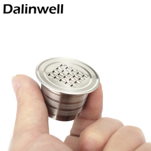 Reusable Stainless Steel Nespresso Capsule Espresso Maker Tool Refillable Compatible Reutilisable Capsula Cup