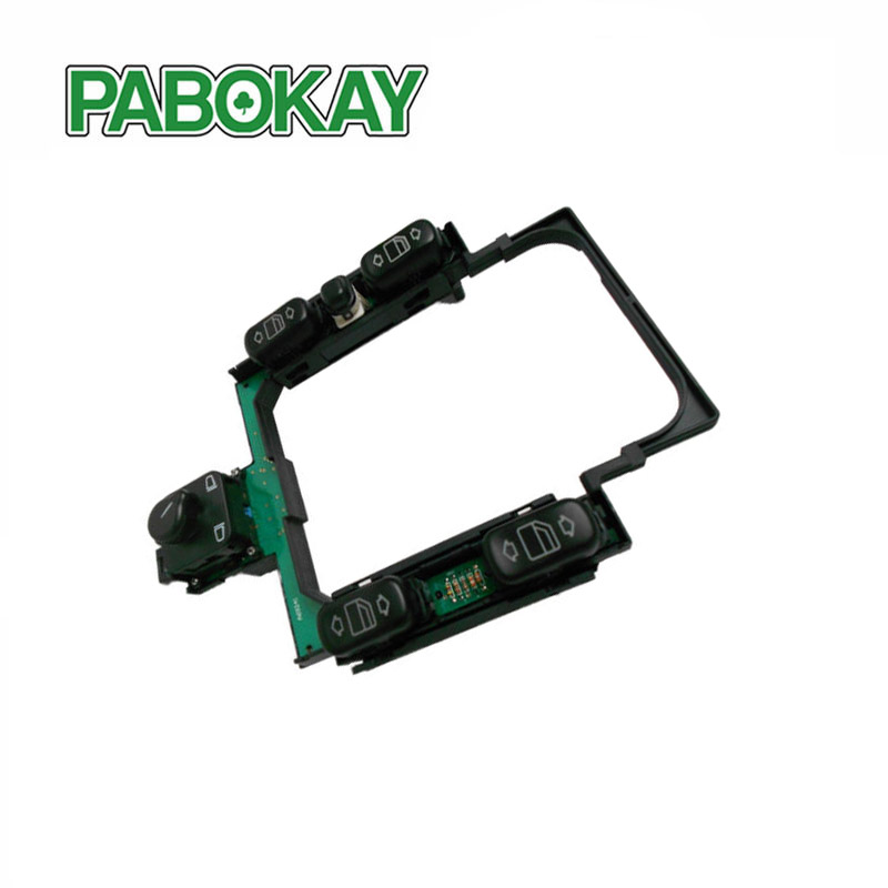 Console Assembly High Performance Front Door Window Switches Center Power Master Switch For Mercedes-Benz E300 E320 2108200110