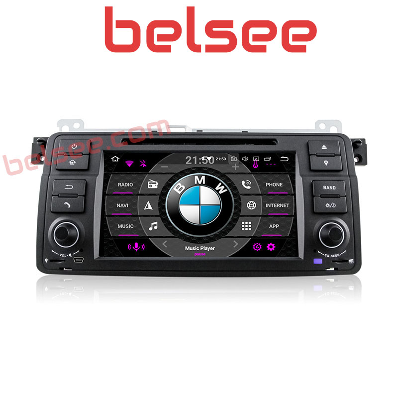 Belsee Android 8.0 Car DVD Player Head Unit Radio Stereo