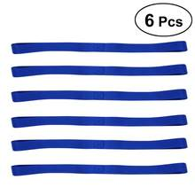 6pcs Soft Loop Tie Down Straps Luggage Bandage For Securing ATV UTV Motorcycles Scooters Dirt Bikes Tie Downs(China)