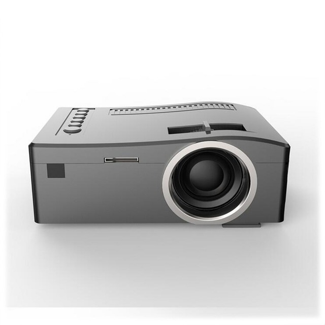 UC18 Mini LCD 320*180 Support 1080P video original portable projectors with HDMI TF Card USB CVBS LED for Home theater Cinema