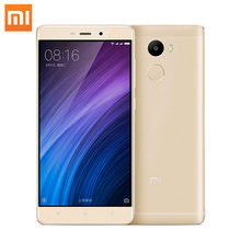 "Original Xiaomi Redmi 4 2GB RAM 16GB ROM Snapdragon 430 Octa Core 4100mAh Fingerprint ID 5.0""13MP Redmi4 MIUI 8.1 Mobile Phone"