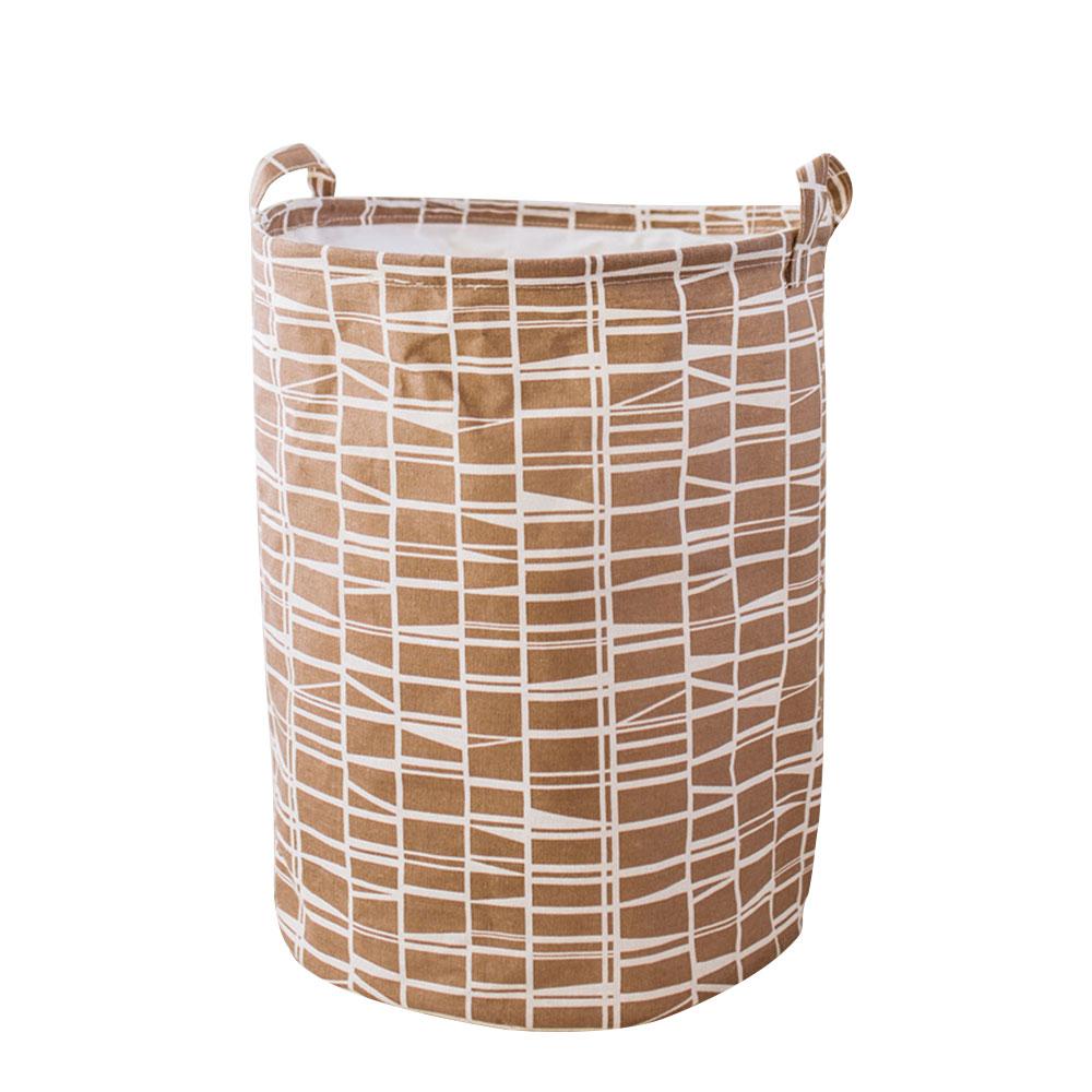 Корзина для грязного белья, корзина для одежды, корзина для уборки белья из хлопка 40*50 см, удобная корзина для хранения, практичная - Цвет: 4