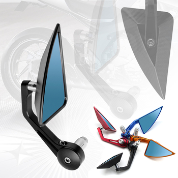 "Universal Motorcycle rearview Mirrors 7/8"" For BMW Honda varadero xl1000 CB 1000 R CBR 600 601 F 600 900 1000 RR Hornet 600 KTM"