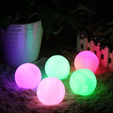 HNGCHOIGE 7-Color Gradient Ball Shaped LED Night Mood Light Lamp Color Change Decor