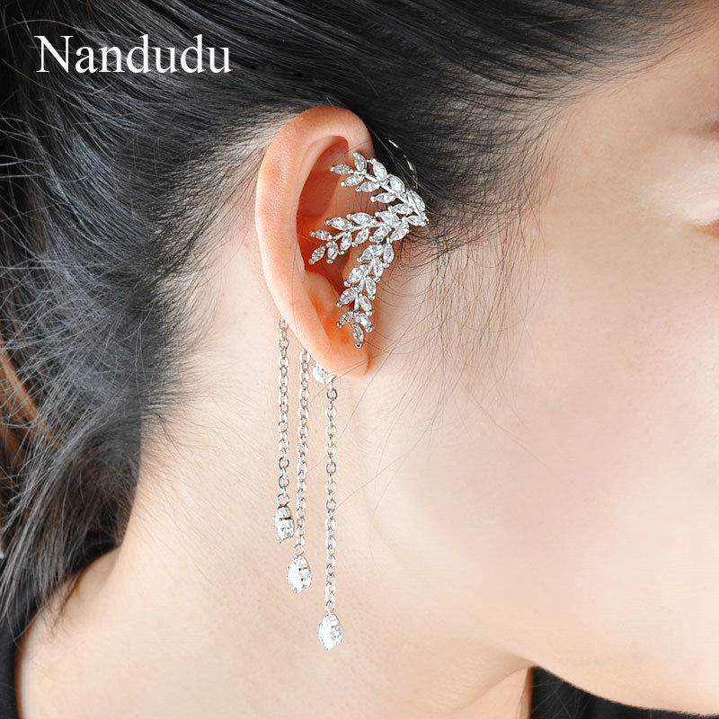Furniture Adaptable 2017 New Earrings For Aretes Largos Baroque Big Long Earrings For Women Pendantes Christmas Drop Dangling Crystal Earrings