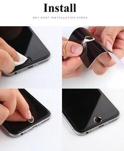 Image 5 - Nyfundas 100 Chiếc Touch ID Nút Home Miếng Dán Kính Cường Lực Cho iPhone 7 6S 6 Plus SE 5S 5 5C iPad Pro Hỗ Trợ Vân Tay Miếng Dán Điện Thoại