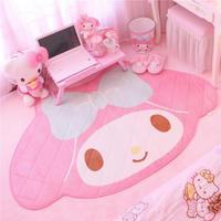 100X150CM Cartoon Melody Carpet For Children Bedroom Soft Cute Velvet Children Play Game Mat Bedroom Beside Area Rug Handwash