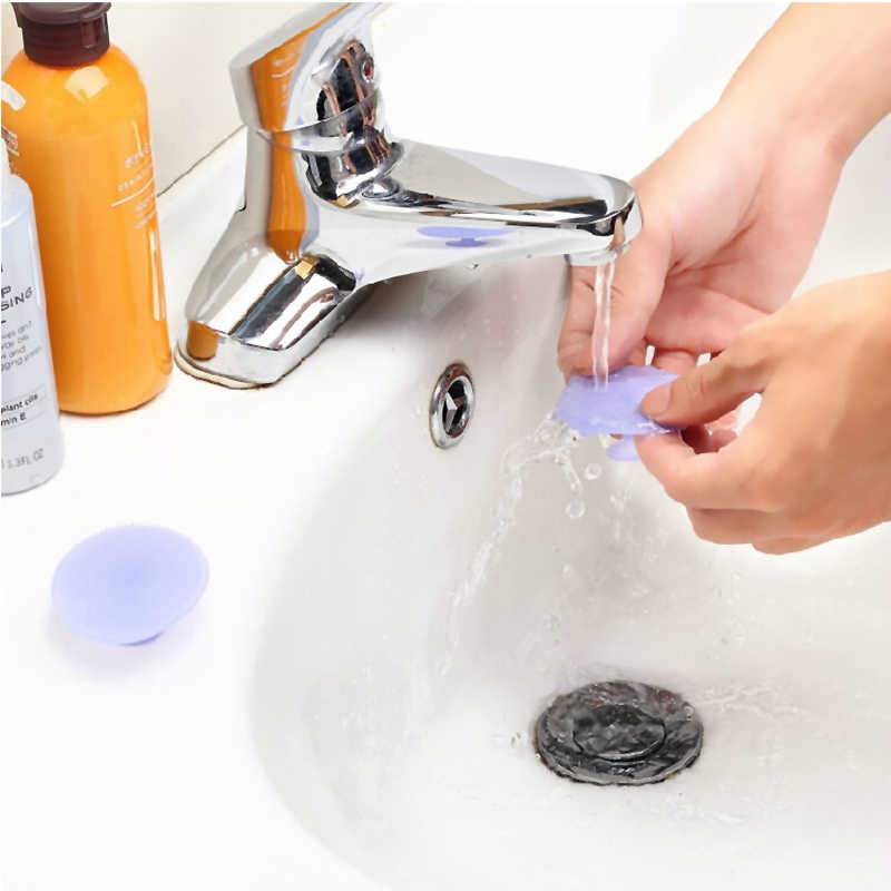 1 Pcs Lembut Silicone Facial Cleansing Sikat Wajah Mencuci Exfoliating Komedo Sikat Remover Kulit Spa Scrub Pad Alat Dropshipping