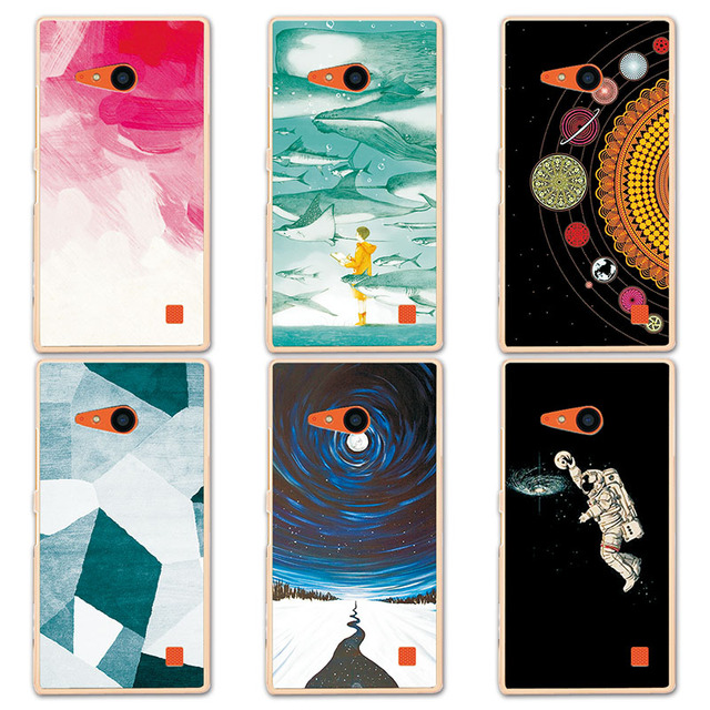 Couple Phone Case For Nokia 730 735, 14 Patterns Universe Planet Astronauts Design Coque for Nokia Lumia 730 N730 735 Case