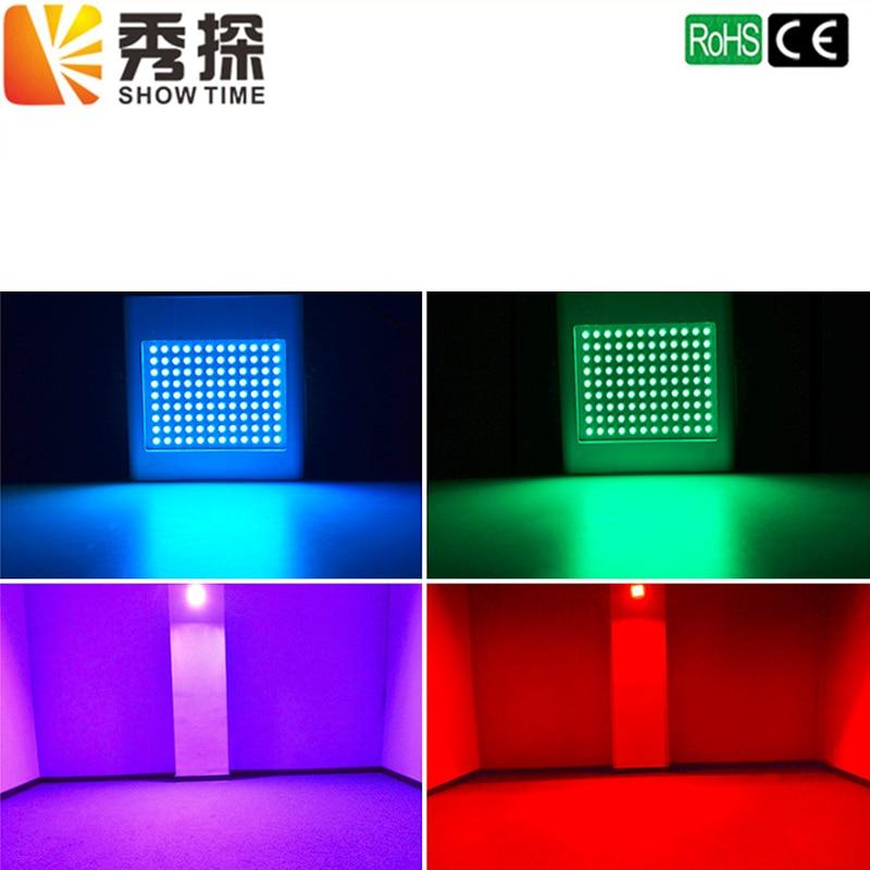 Showtime High Brightness 108 LED Strobe Light Auto Voice Control Mod Adjustable Flash Speed Control RGB 108pcs SMD5050 DJ Strobe