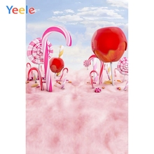 Yeele Candy Bar Little Baby Shower Birthday Party Photography Backgrounds Personalized Photographic Backdrops For Photo Studio