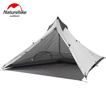 Naturehike Outdoor Ultralight Tent 1 Person Waterproof 20D Silicone Tourist Travel Camping Hiking Tent Winter Tents NH17T030-L flytop 1 2 person outdoor tent ultralight outdoor hiking camping tent waterproof tents ultralight outdoor travel portable tents