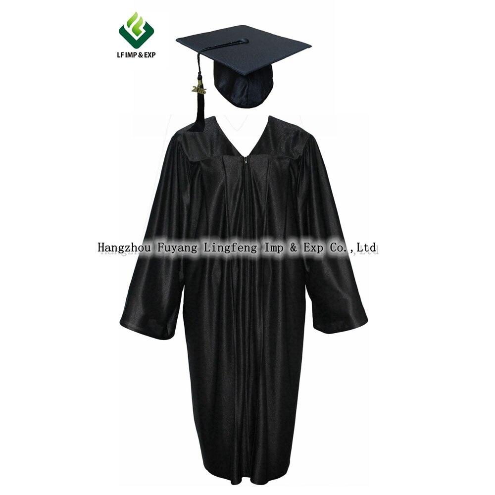 High Quality Pretty Shiny School Uniform For Girls Graduation Gown ...