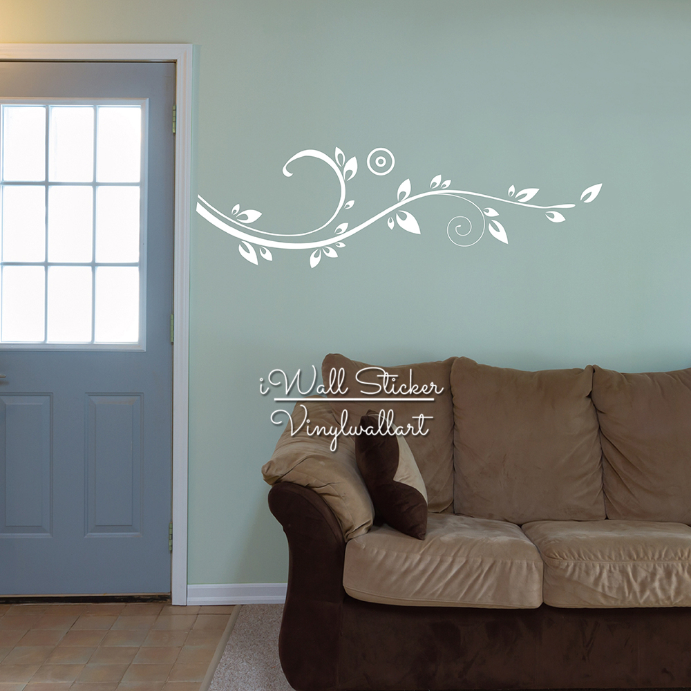 popular wine wall decals buy cheap wine wall decals lots from flower wall sticker floral wines wall decal diy modern blossom wines stickers living room decors cut