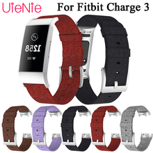 For Fitbit Charge 3 frontier/classic canvas replacement wrist strap For Fitbit Charge 3 smart watch wristband accessories все цены